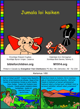 When God Made Everything (Finnish)