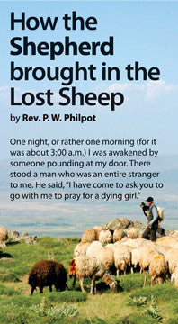 How the Shepherd Brought in the Lost Sheep