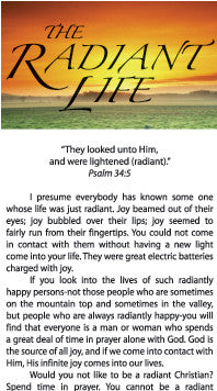 The Radiant Life