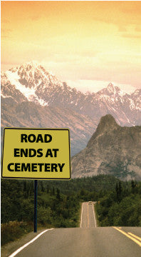 Road Ends at Cemetery