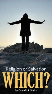 Religion or Salvation - Which?