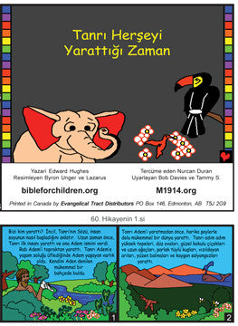 When God Made Everything (Turkish)