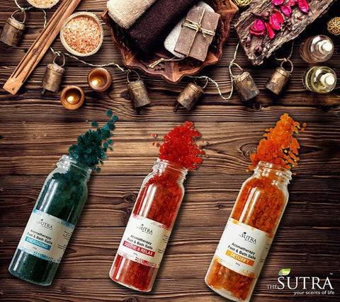 SUTRA Aromatherapy Foot and Bath Salts