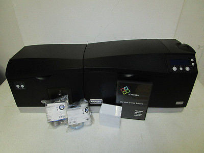 Fargo DTC550-LC Double-Sided w/Lamination w/Mag Encoder - System