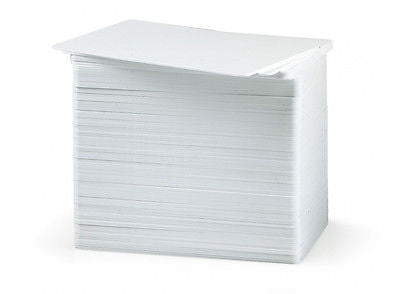 High Quality White ID Cards CR80 30mil PVC Quantity 500 cards