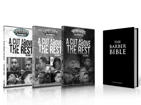 A CUT ABOVE THE REST  VOL - 1, 2 , 3 + The Barber Bible