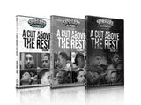 A CUT ABOVE THE REST  VOL - 1 , 2 , 3