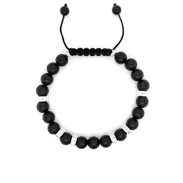 The King's Bracelet • Matte Black Onyx