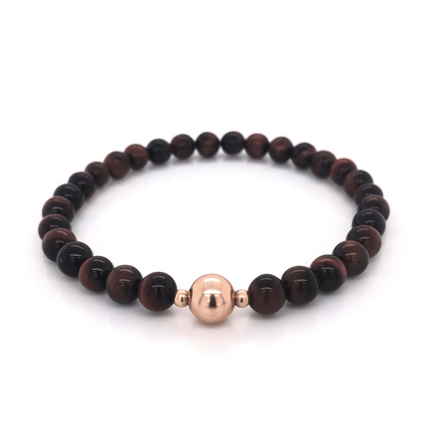 The Adam Bracelet • Red Tiger's Eye