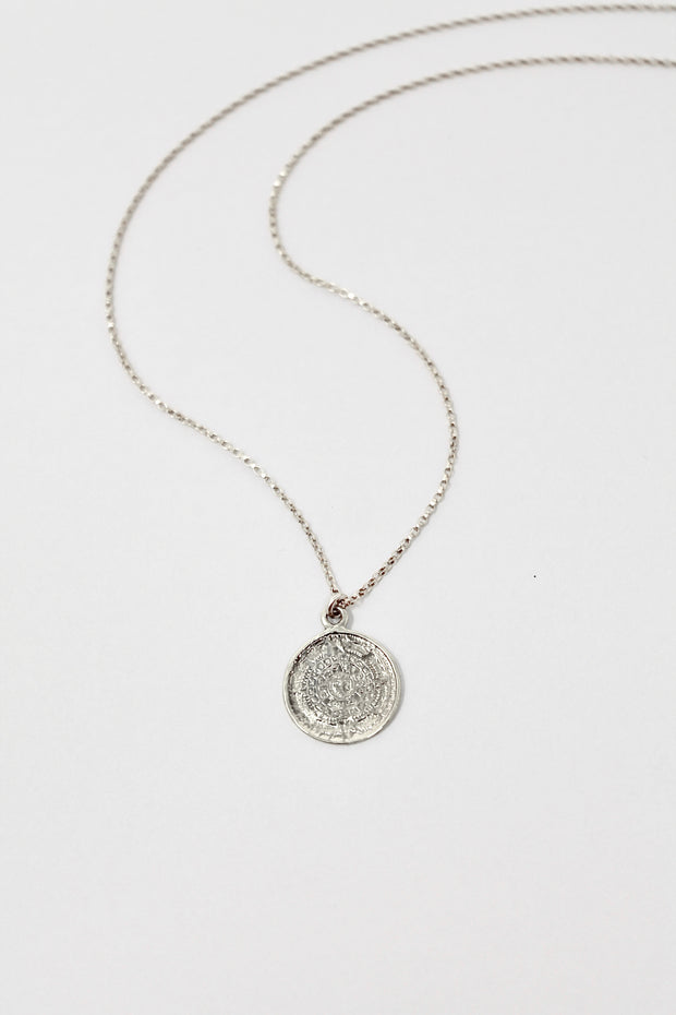 Mayan Necklace | Sterling Silver