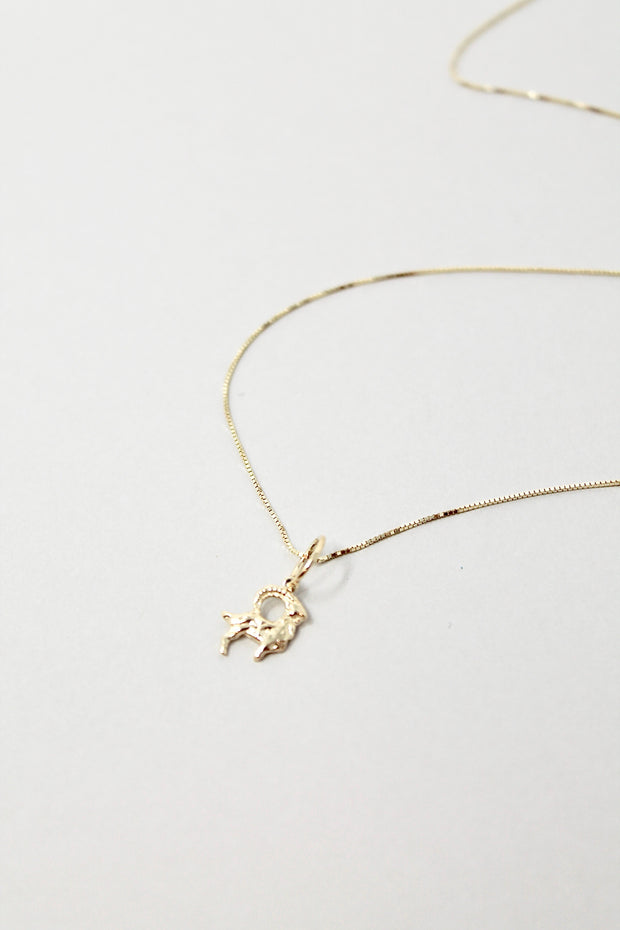 Star Sign Necklace | Aries