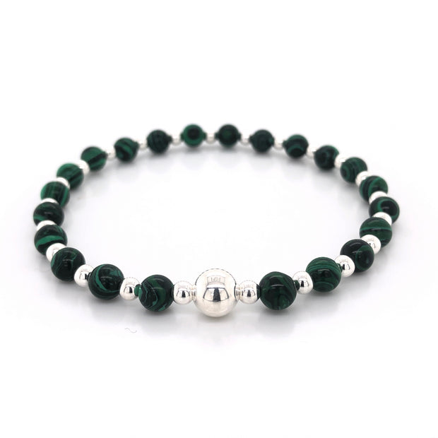 The Tommy Bracelet • Malachite