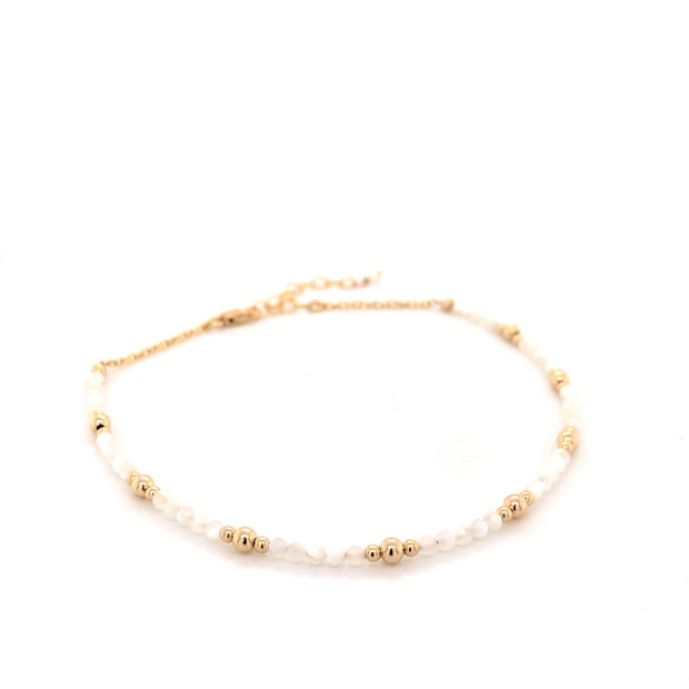 SEA FOAM ANKLET