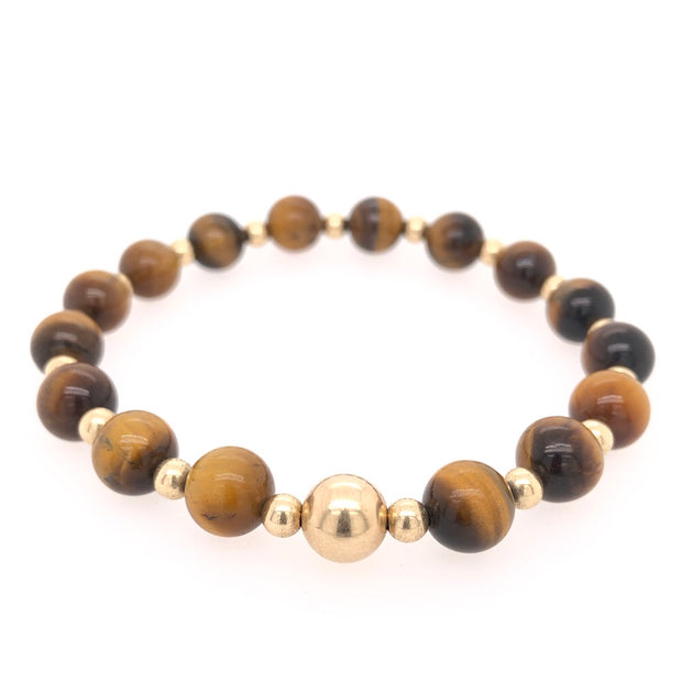 The Big Tommy Bracelet • Tiger's Eye