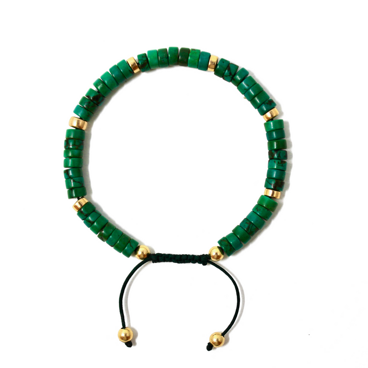 THE MANOA BRACELETS • AFRICAN JADE