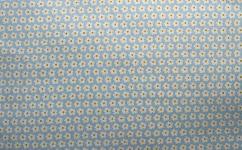 "Benartex House and Home 2938 Small Floral Print Blender Tonal Retired Designer Quilting 18"" BTHY Half Yard Quilt Fabric HY Retired New"