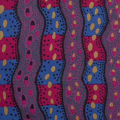 "Brandon Mably PWBM046 Victoria Dark Stripe Kaffe Fassett Collective Quilting 18"" BTHY Rowan Westminster Half Yard 18"" Quilt Fabric HY"