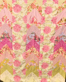 Remember Me in Pink Florals 60x72 Patchwork EASY FAST Quilt Top In A DAY Kit Kaffe Fassett Negley Griffin Philip Jacobs w/ Binding