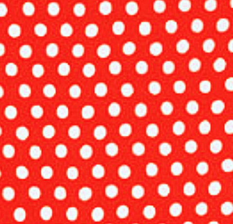 "Kaffe Fassett  PWGP070.TOMAT GP70 Tomato Red Polka Dot Dots FQ FAT Quarter Rowan Westminster Fasset Collective 18""x22"" Classic Quilt Fabric"