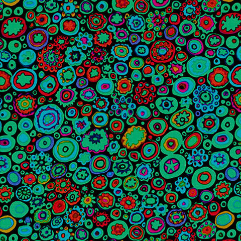 "Kaffe Fassett GP20.JEWEL GP020 Jewel Paperweight Classic FQ FAT Quarter Rowan Westminster Fasset Collective 18""x22"" Quilt Fabric"