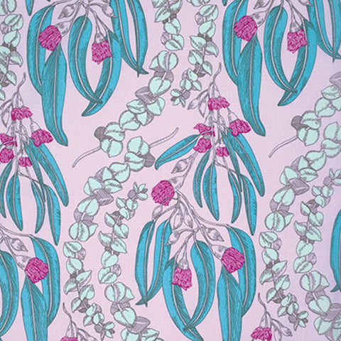 "PWAH074.JEWEL Pretty Potent Anna Maria Horner Eucalyptus Jewel Quilting 18"" BTHY Rowan Westminster Half Yard 18"" Quilt Fabric HY Floral"