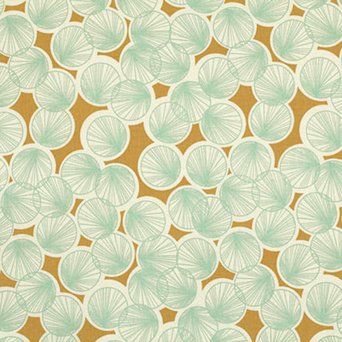 "Joel Dewberry PWJD080 Botanique Lily Pads Butternut Eclectic Nature Modern Free Spirit Designer Quilting 18"" BTHY Half Yard Quilt Fabric HY"