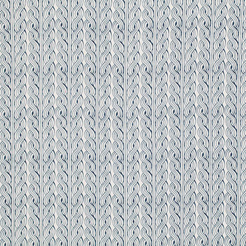 "PWPG019 Parson Gray World Tour Wales Salt Stripe Blue Quilting 18"" BTHY Rowan Westminster Half Yard 18"" Quilt Fabric HY Floral Mod Modern"