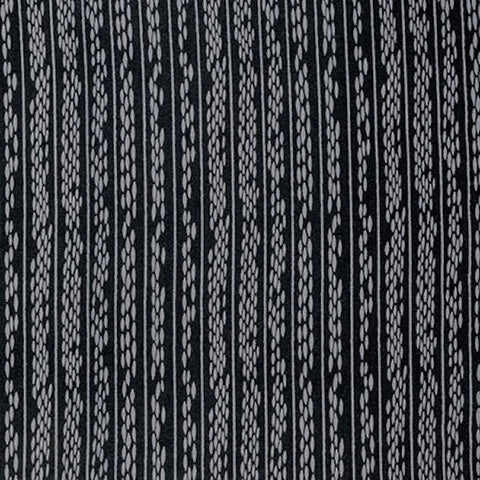"PWPG057 Parson Gray Boro Kome Pewter Black Stripe Masculine Mod Tonal Quilting 18"" BTHY Westminster Half Yard 18"" Quilt Fabric HY Mod Modern"