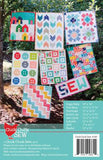 Mini Quilts 8 Mini Quilt Patterns Miniature Wallhangings Mug Rugs Tabletop Decor 18 Pages w/ Templates Color Book Booklet Cluck Cluck Sew