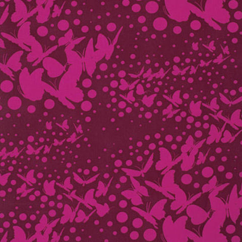 "Tula Pink PWTP059 Moonshine Swarm Jam Butterflies Quilting 18"" BTHY Rowan Westminster Half Yard Quilt Fabric Mod Butterfly Moon Shine"