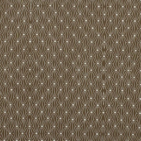 "PWPG051 Parson Gray Katagami Netting Thatch Brown Tonal Blender Quilting 18"" BTHY Westminster Half Yard 18"" Quilt Fabric HY Mod Modern"