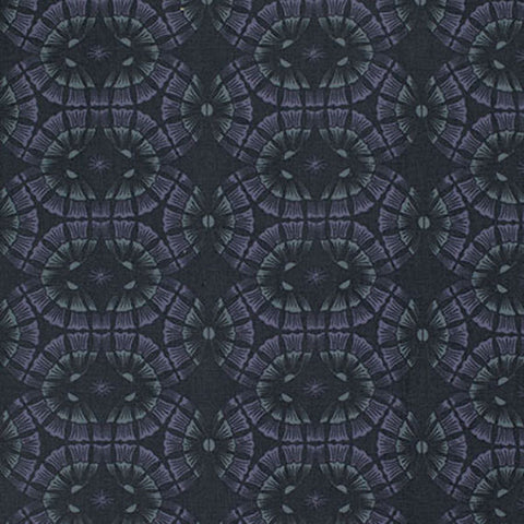 "PWPG035 Parson Gray Empire Palace Royal Dark Geometric Quilting 18"" BTHY Westminster Half Yard 18"" Quilt Fabric HY Masculine Modern"