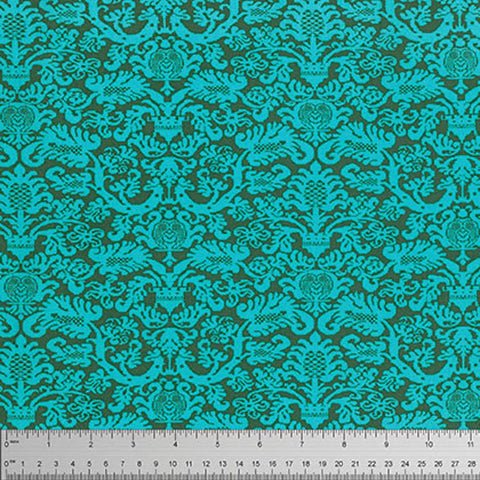"Amy Butler PWTC033 Fanfare Pine Tonal Blender  Floral True Colors BTHY Half Yd 18"" Freespirit Quilting Quilt Sew Sewing Fabric"