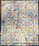 Club 7 Kaleidoscope Scrappy Quilt Club FB Facebook Monthly Quilt-Along USA Kaffe Fassett Martha Negley Jacobs Fabric Block Kit Pattern Sew