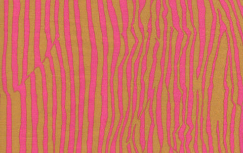 "Brandon Mably BM018 bm18 Brown Pink Wrinkle Kaffe Fassett Collective Designer Quilting 18"" BTHY Rowan Westminster Half Yard 18"" Quilt Fabric"