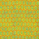 "Brandon Mably PWBM041 Pomegranate Yellow Kaffe Fassett Collective Designer Quilting 18"" BTHY Rowan Westminster Half Yard 18"" Quilt Fabric HY"