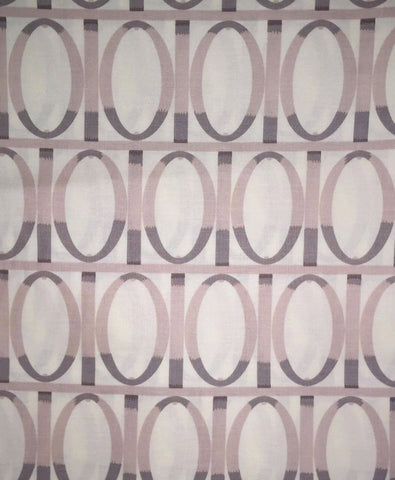"Martha Negley PWMN055 Garden Gate Grey Farmington Floral Quilting 18"" BTHY Geometric Retired Rowan Westminster Half Yard Quilt Fabric HY BHY"