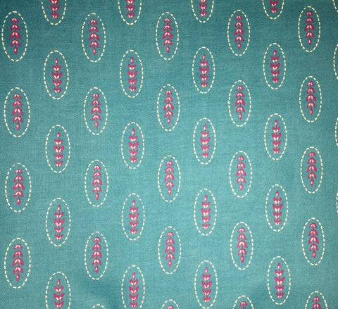"Connecting Threads Quilter's Candy 2010 Turquoise Magenta Blender Retired Designer Quilting 18"" BTHY Half Yard Quilt Fabric HY Retired New"