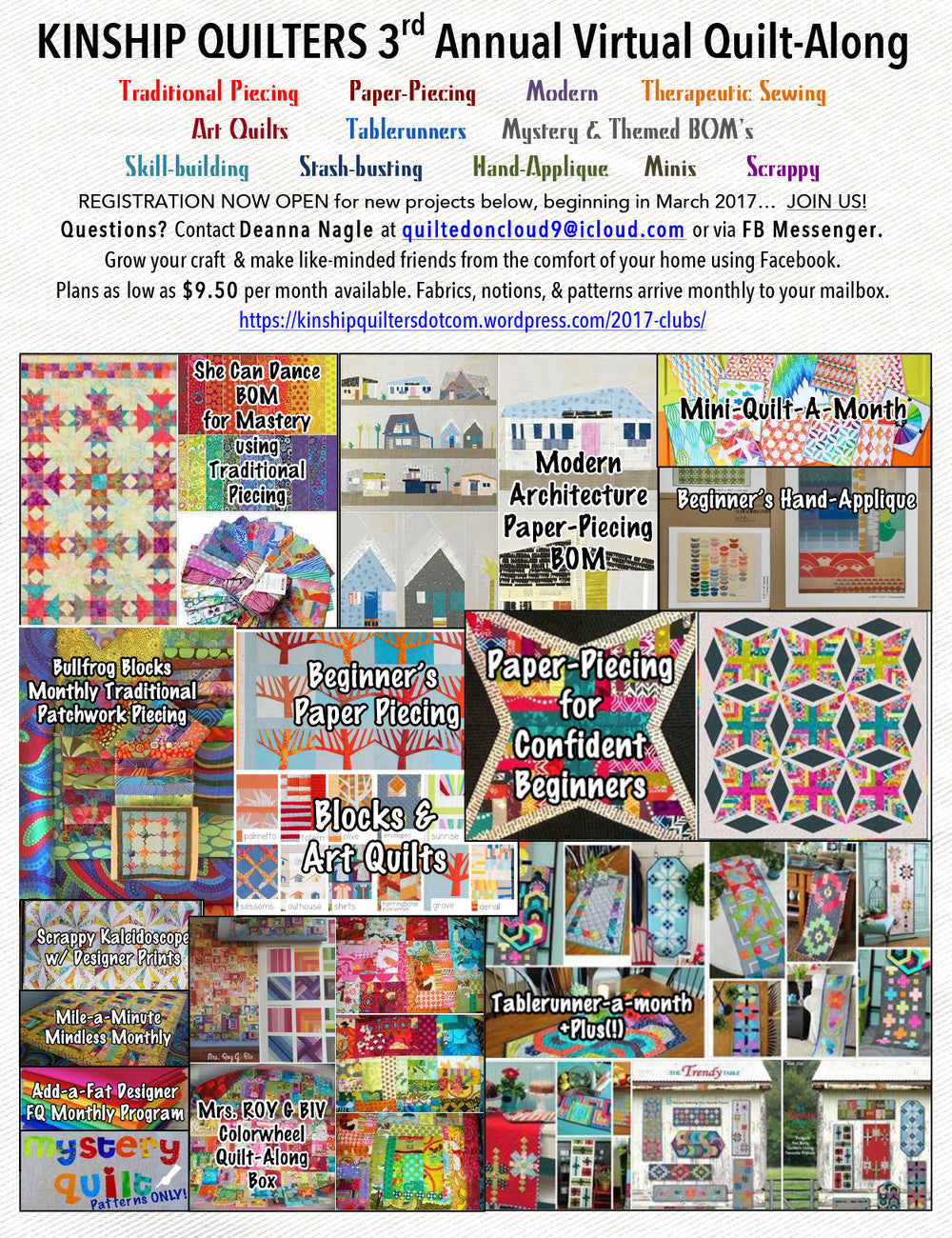 Kinship Quilters Clubs