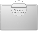 How to find or identify my NEW Microsoft Surface model?