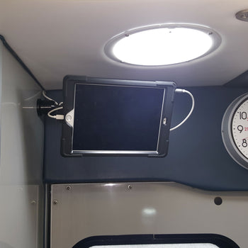 Sanford Health uses MagConnect Bold MP Wall Mounts to connect with EMT team members while transporting emergency patients