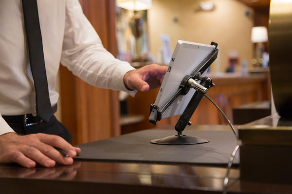 hotel guest check-in self service terminal