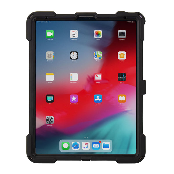 "cases - aXtion Bold MPS with Key Lock for iPad Pro 12.9"" 3rd Gen (Black) - The Joy Factory"