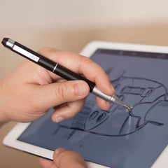 Pinpoint X-Spring Precision Stylus & Pen Black - The Joy Factory