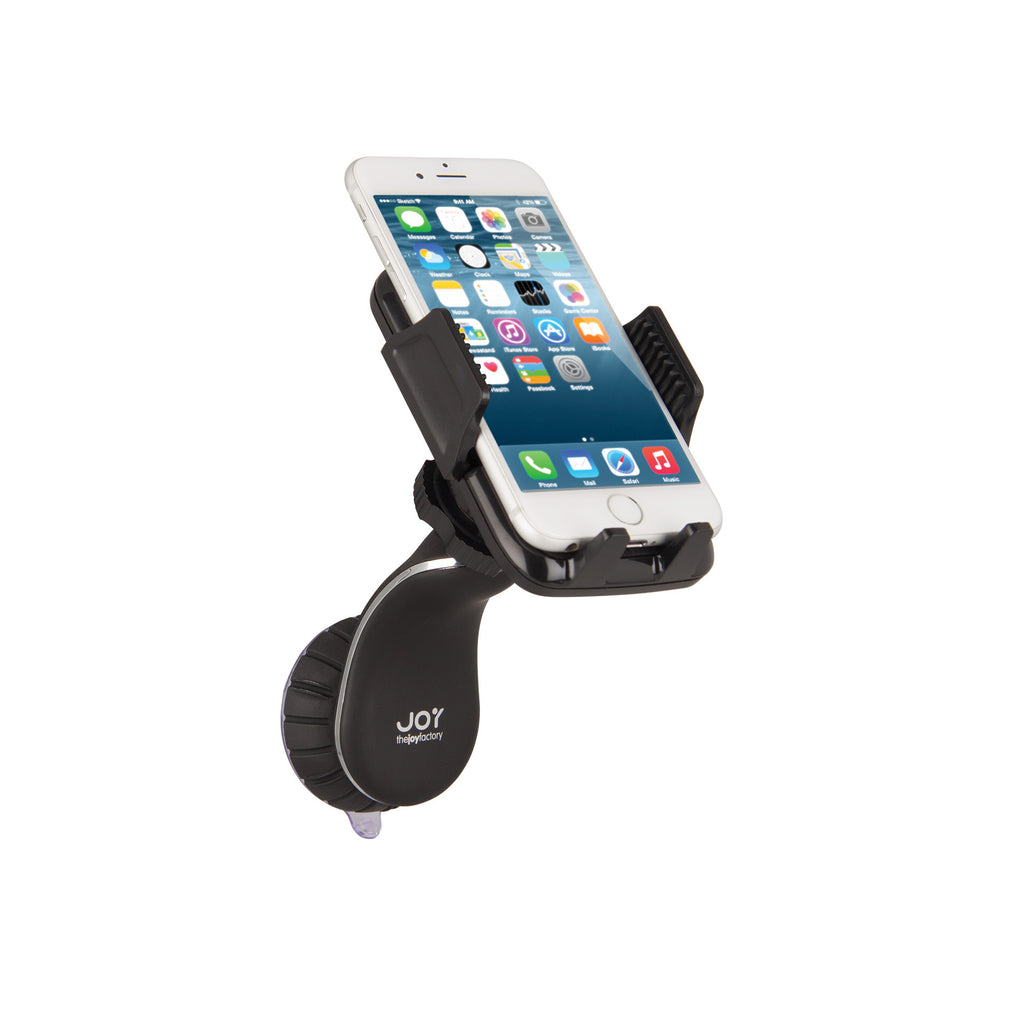 "MagConnect Universal S1 Suction Cup Holder for Smartphone 2.25"" - 3.5"" in width - The Joy Factory"