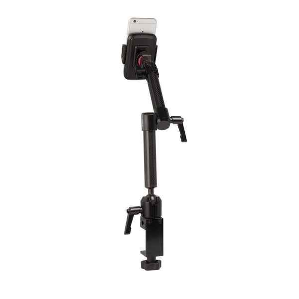 "MagConnect Universal S1 Wheelchair Mount for Smartphone 2.25"" - 3.5"" in width - The Joy Factory"