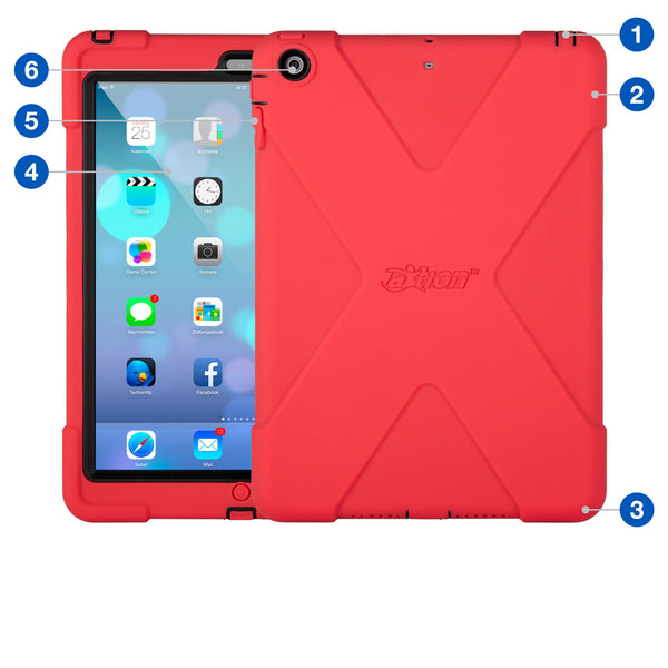 aXtion Bold Case for iPad Air (Red/Black) - The Joy Factory - 1