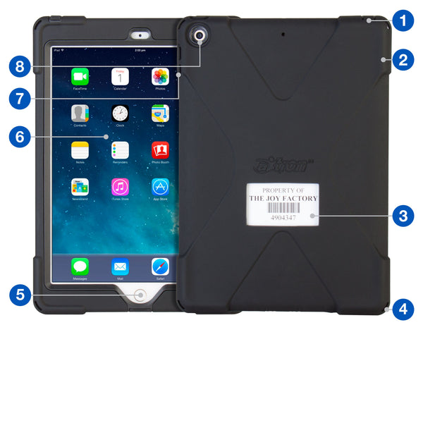 - aXtion Bold E for iPad 9.7 6th | 5th Generation (Black) - The Joy Factory