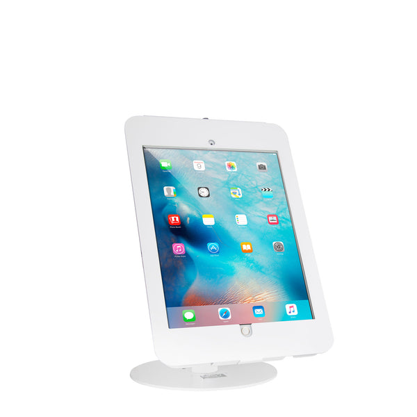 "kiosks - Elevate II Countertop Kiosk for iPad Pro 12.9"" (White) - The Joy Factory"