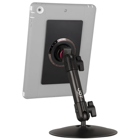 Tablet Desk Stand with Carbon Fiber Arm from The Joy Factory